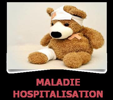 Maladie . Hospitalisation